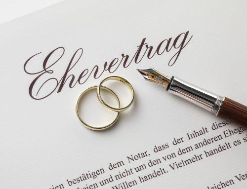 Der Ehevertrag –  jeder kann Gewinner sein. Für- und Vorsorge für alle Fälle